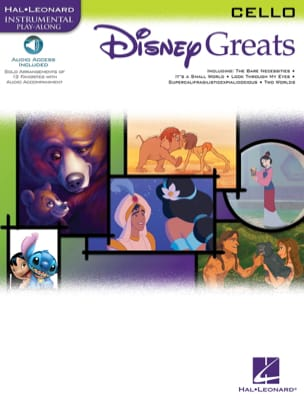 Disney greats DISNEY Partition Violoncelle - laflutedepan