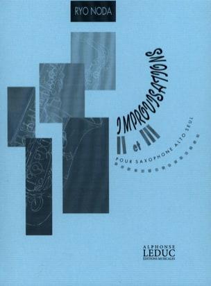 Improvisations 2 et 3 Ryo Noda Partition Saxophone - laflutedepan
