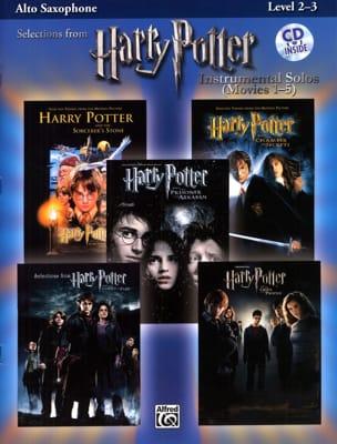 Harry Potter instrumental solos movies 1-5 Partition laflutedepan