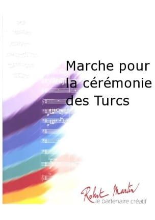 Marche Pour la Cérémonie des Turcs LULLY Partition laflutedepan