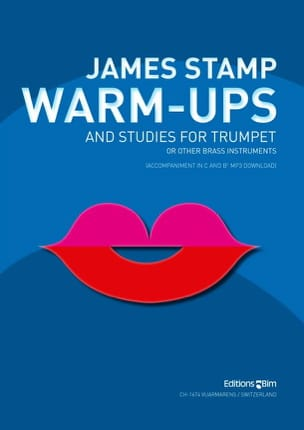 Warm-Ups Studies James Stamp Partition Trompette - laflutedepan