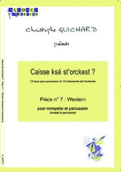 Caisse Ksé St'orckest ? Pièce N° 07 Western laflutedepan