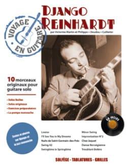 Voyage en Guitare Django Reinhardt Partition Jazz - laflutedepan