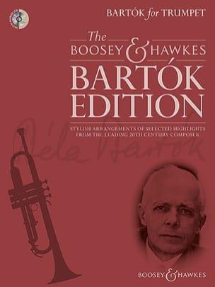 Bartók for Trumpet BARTOK Partition Trompette - laflutedepan