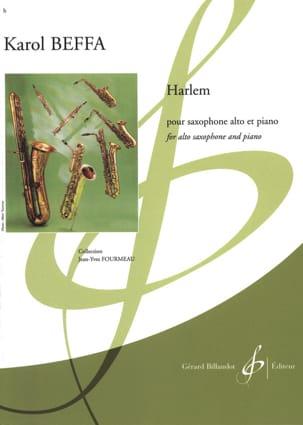 Harlem - Karol Beffa - Partition - Saxophone - laflutedepan.com