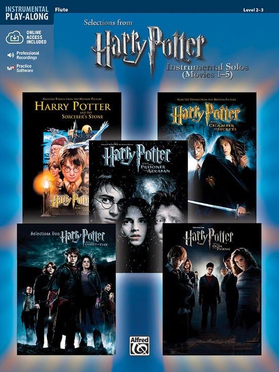 Harry Potter instrumental solos movies 1-5 - laflutedepan.com