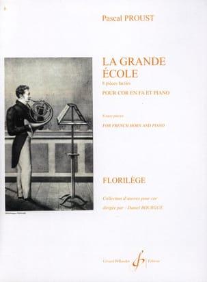 La Grande Ecole - 8 Pièces Faciles Pascal Proust laflutedepan