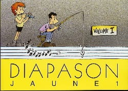 Diapason Jaune - Volume 1 Partition Chanson française - laflutedepan