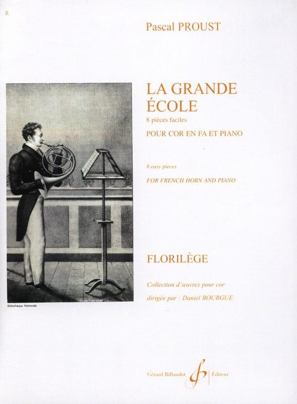 La Grande Ecole - 8 Pièces Faciles - Pascal Proust - laflutedepan.com