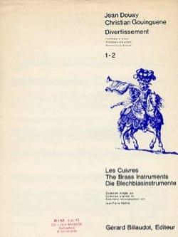 Divertissement Douay J. / Gouinguene C. Partition laflutedepan