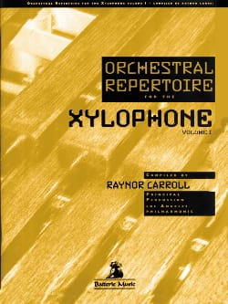 Orchestral repertoire for the xylophone volume 1 laflutedepan