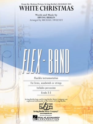White Christmas - FlexBand Irving Berlin Partition laflutedepan