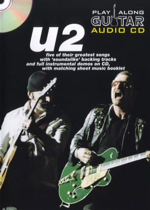 U2 - Play Along Guitar Audio Cd - Partition - di-arezzo.fr