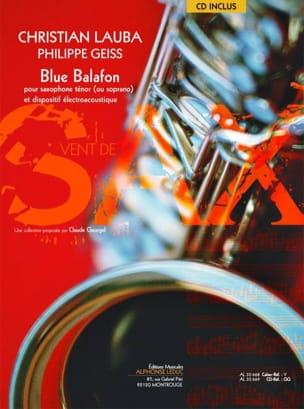 Blue balafon Lauba Christian / Geiss Philippe Partition laflutedepan