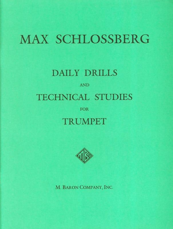 Daily Drills & Technical Studies - Max Schlossberg - laflutedepan.com