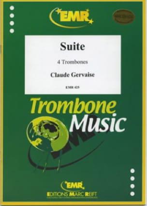 Suite - Claude Gervaise - Partition - Trombone - laflutedepan.com