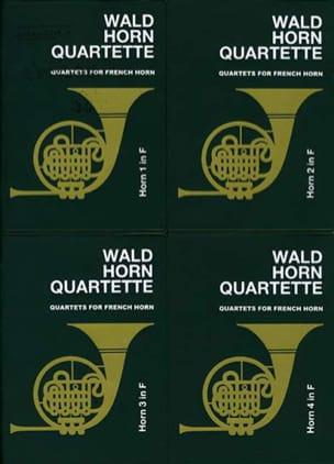 Wald horn quartette volume 1 Partition Cor - laflutedepan