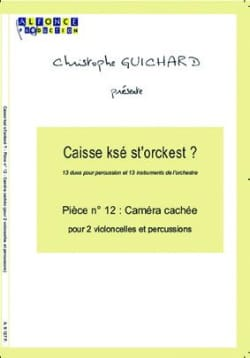 Caisse Ksé St'orckest ? Pièce N° 12 Caméra Cachée laflutedepan