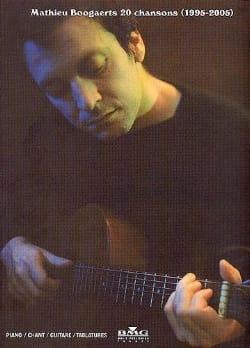 Mathieu Boogaerts 20 Chansons 1995-2005 - laflutedepan.com