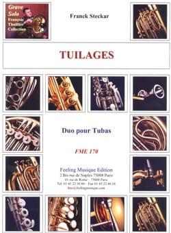 Tuilages Franck Steckar Partition Tuba - laflutedepan