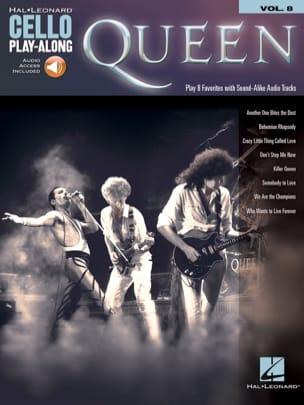 Cello Play-Along Volume 8 - Queen Queen Partition laflutedepan
