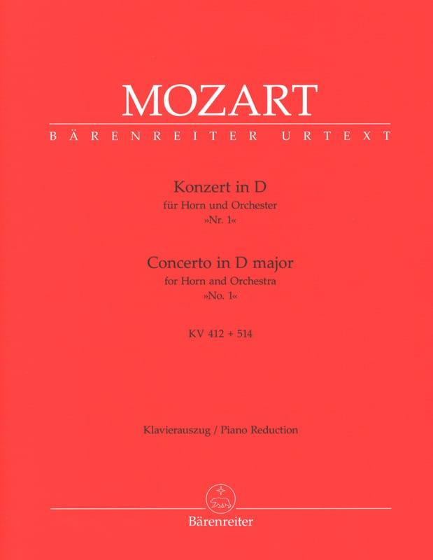 Concerto N° 1 In D Major KV 412 + 514 - MOZART - laflutedepan.com