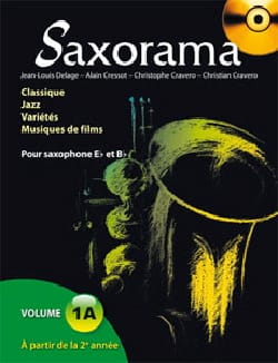 Saxorama Volume 1A Partition Saxophone - laflutedepan