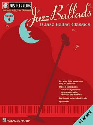 Jazz play-along volume 4 - Jazz Ballads Partition laflutedepan