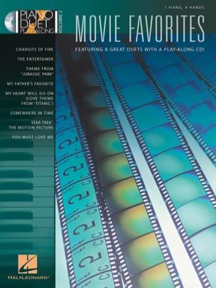 Piano Duet Play-Along Volume 2 - Movie Favourites laflutedepan