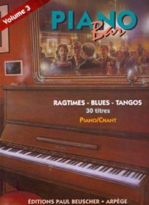 Piano Bar Volume 3 - Ragtimes, Blues, Tangos - laflutedepan.com