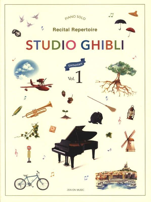 Studio Ghibli Recital Repertoire 1 - Easy Piano - laflutedepan.com