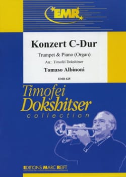 Concerto en Do Majeur ALBINONI Partition Trompette - laflutedepan