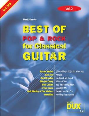 Best of pop & rock for classical guitar volume 2 laflutedepan