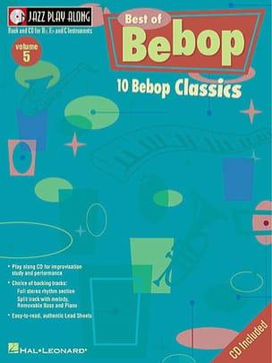 Jazz play-along volume 5 - The Best Of Bebop Partition laflutedepan