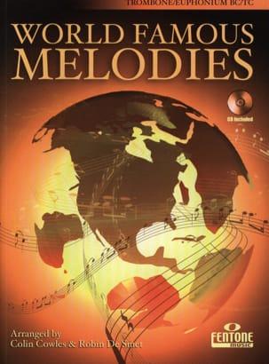 World Famous Melodies Partition Trombone - laflutedepan
