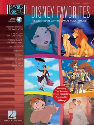 Piano Duet Play-Along Volume 5 - Disney Favorites DISNEY laflutedepan