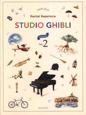 Studio Ghibli Recital Repertoire 2 - Easy Piano - laflutedepan.com