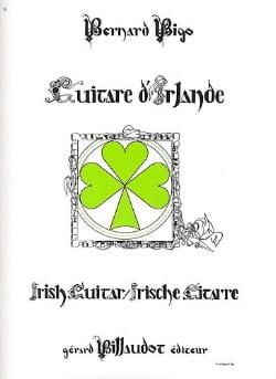 Guitare D' Irlande Bernard Bigo Partition Guitare - laflutedepan