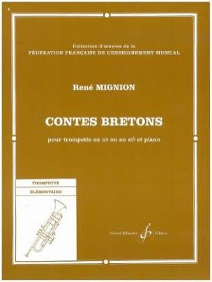 Contes Bretons René Mignion Partition Trompette - laflutedepan
