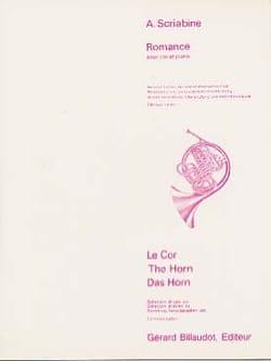 Romance - SCRIABINE - Partition - Cor - laflutedepan.com