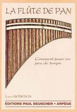La Flûte de Pan Luca Rebescu Partition Musique du monde - laflutedepan