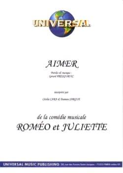 Gérard Presgurvic - Like Romeo and Juliet - Partition - di-arezzo.co.uk