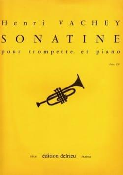 Sonatine Henri Vachey Partition Trompette - laflutedepan
