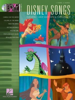 Piano Duet Play-Along Volume 6 - Disney Songs DISNEY laflutedepan