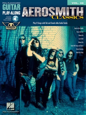 Guitar play-along volume 48 - Aerosmith Classics laflutedepan
