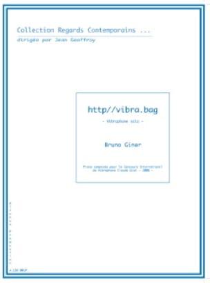 Http//vibra.bag - Bruno Giner - Partition - laflutedepan.com