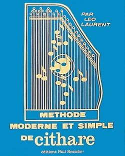 Méthode moderne et simple de cithare Leo Laurent laflutedepan