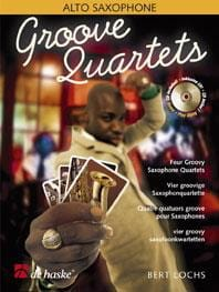 Groove Quartets Bert Lochs Partition Saxophone - laflutedepan