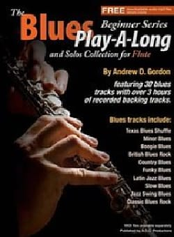 The Blues Play-A-Long And Solos Collection For Flute laflutedepan