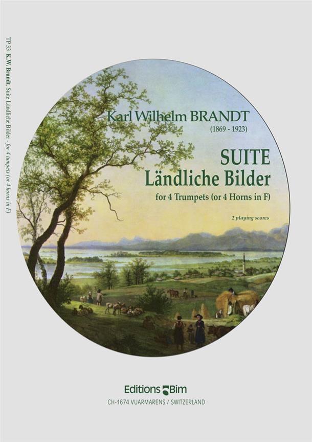 Suite Ländliche Bilder - Karl Wilhelm Brandt - laflutedepan.com